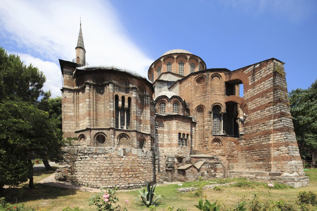 Among the top five exotic places for taking pictures in turkey is this chora church